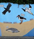 Image for Cardigan Bay - Mural - New Quay, Ceredigion, Wales.