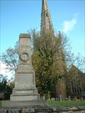 Image for Combined War Memorial - All Saints' churchyard, Braunston, Northamptonshire, UK.
