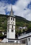 Image for Kirchturm der Kirche St. Jakob - Mund, VS, Switzerland