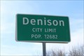 Image for Denison, TX - Population 22682