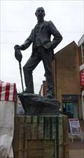 Image for A E Houseman statue 1859-1936