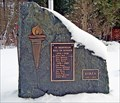 Image for New cenotaph on display at ... Fruitvale, BC