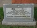 Image for Mansfield Civil War Veterans Memorial - Mansfield, TX