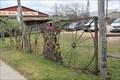 Image for Wagon Wheel Gate -- Fredericksburg TX