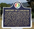 Image for History of Langston - Langston, AL