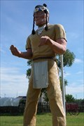 Image for Fort Cody Trading Post Muffler Man - North Platte, NE