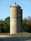 Image for Miller High Life Ghost sign on silo
