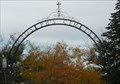 Image for St. Joseph's Cemetery Arch - Rawlins WY