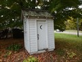 Image for School Outhouse - Newfield, NY