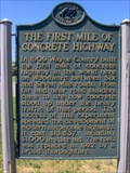 Image for First Mile of Concrete Highway - Woodward Avenue M-1