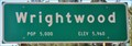 Image for Wrightwood ~ Population 5000