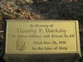 Image for Timothy P. Huckaby - TVA Police Officer - Norris Dam, TN