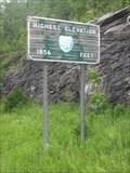 Image for HIGHEST Elevation on I-91