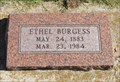 Image for 100 - Ethel Burgess - Norman I.O.O.F. Cemetery - Norman, OK