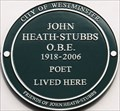 Image for John Heath-Stubbs - Artesian Road, London, UK