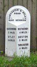 Image for Milestone - Harewood Road, East Keswick, Yorkshire, UK.