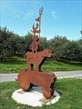 Image for Silhouette Sculpture Jahr des Bauern - Kressbronn, BW, Germany