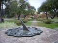 Image for Civic Centre Garden Sundial, Halton Hills, Ontario, Canada
