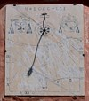 A corrected image of the sundial showing the details