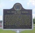 Image for D. A. Smith High School/ Professor D. A. Smith, Principal - Ozark, AL