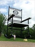 Image for World's Largest Rocking Chair - Fanning, Missouri, USA.