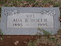 Image for 100 - Ada B. Hollie - Summit View Cemetery - Guthrie, OK