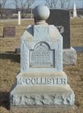 Image for McCollister - Bonner Springs Cemetery  -  Bonner Springs, KS