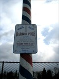 Image for Worlds Tallest Barber Pole, Forest Grove, OR