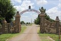Image for Terrace Cemetery Gateway Arch -- Post TX