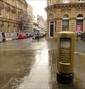 Image for Gold Post Box For Gold Medallist Hanna Cockroft - Halifax, UK