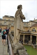 Image for Emperor Vespasian -- Roman Baths, Bath, Somerset, UK
