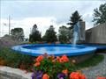 Image for La fontaine du Parc Bernard-Pinard, Drummondville, Qc, Canada