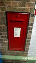 Image for Victorian Wall Post Box in Falmer, West Sussex, UK
