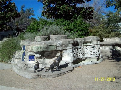 The children's zoo is especially interesting for kids who have grown up in the city and have never seen farm animals.