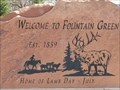 Image for Welcome to Fountain Green, Fountain Green, Utah