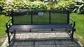 Image for Cliff & Edie Moreton bench - Belleville, ONtario