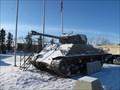 Image for Sherman Tank - Branch 105 Legion - Olds, Alberta