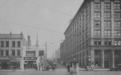 Bowery St At S Main Akron Ohio Photos Then And Now On Waymarking
