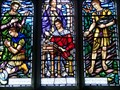 Image for WW1 Memorial Window - St Cattwg's Church, Port Eynon, Wales.