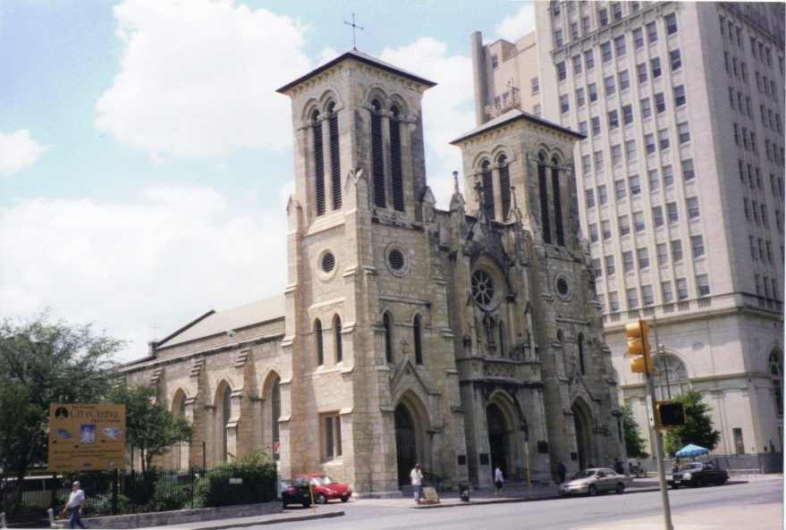 OLDEST - Cathedral in United States - OLDEST - Building in