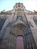 Image for Bell Tower of Temple Saint-Etienne (Stefanskirche) - Alsace / France