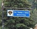Image for Cst. Thomas I. Kehoe Memorial Bridge - Bancroft, Ontario
