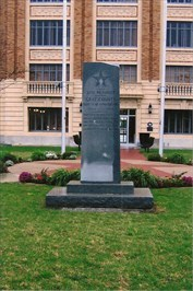 50th Anniversary monument