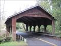 Image for Johnson Creek (Cedar Crossing) Covered Bridge, Portland, Oregon