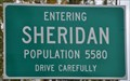 Image for Sheridan, Oregon ~ Population 5589