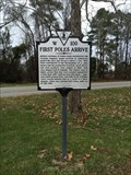 Image for First Poles Arrive - Jamestown, VA