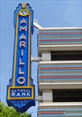 Image for Amarillo National Bank -  Neon - Route 66, Amarillo, Texas, USA.