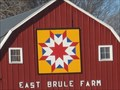 Image for East Brule Barn Quilt, rural Alcester, SD