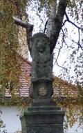 Image for Königlicher Löwe mit Erfurter Stadtwappen - Erfurt, Thuringia, Germany