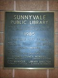Image for Sunnyvale Public Library - 1985 - Sunnyvale, CA